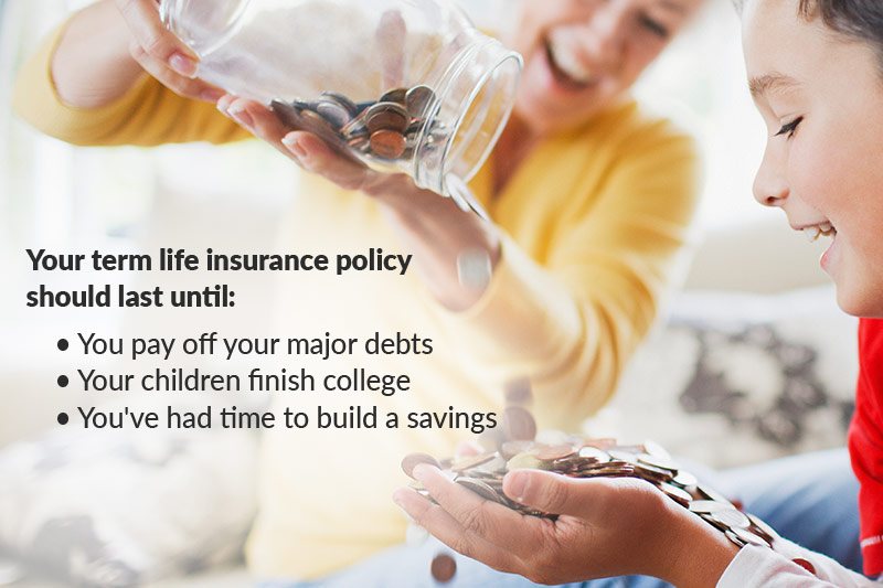 how long should term life insurance last
